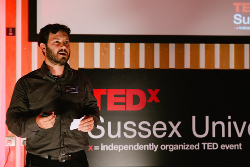 Adrian Ely speaking at TEDxSussexUniversity 2012