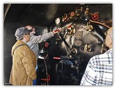 1115  Tren a vapor (Ricard Gabarrús) Tags: tren trenes via vapor locomotora vias ferroviario locomotoras ricardgabarrus