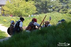 IMG_0171 (Naturally in Niagara) Tags: old war fort battle soldiers british erie reenactment bicentennial culloden 1812