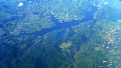 Another dammed lake (oobwoodman) Tags: lake turkey see dam trkiye lac aerial turquie trkei barrage luftphoto luftaufnahme stausee aerien zrhdxb zrhdbx