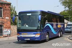 Shearings Wigan BK09LUJ. (EYBusman) Tags: road bus coach holidays yorkshire arnold lancashire east independent wallace bridlington wigan setra shearings kassbohrer triaxle hilderthorpe eybusman 415gt bk09luj