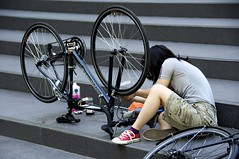 The Art of Bicycle Maintenance. LSE New Academy Building, Lincoln's Inn Fields, London WC2 (aka Razz) Tags: trees shadow bus london station strand plane underground shoes tube victorian victoria caged shade somersethouse lions coventgarden piazza kingscross canopy ducati statuary npg charingcross nationaltreasure 91 nationalportraitgallery nw1 bushhouse volvic crouchend charlesdickens wc2 thelady isambardkingdombrunel walkthisway irreverence walkinthedog australiahouse louisamayalcott bbcworldservice civilengineer thepiazza ilmostro architecturalcolumns londonplanes number91 bvshhovse trickcyclist bicyclemaintenance heatrelief platdejour theoldecuriosityshop rebuilt1861 steakhatcheacheval