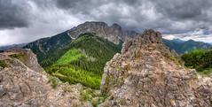 Giewont  - widok z Sarnich  Skał (Mariusz Petelicki) Tags: panorama hdr tatry zakopane giewont tatramountains mariuszpetelicki sarniaskała