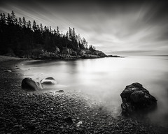 Little Hunter Beach (Nate Parker Photography) Tags: blackandwhite anp maine barharbormaine mainecoast acadianationalpark haveaniceday mainebeaches mainepictures acadianationalparkbarharbormaine blackandwhitemaine acadiapictures acadianationalparkpictures acadianationalparkimages littlehuntersbeachacadia picturesofacadia