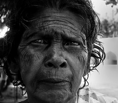 Old age ([PKPC]) Tags: street light portrait people blackandwhite bw india blancoynegro blanco face female contrast work dark photography mono photo blackwhite exposure village image indian sony femme streetportrait naturallight portrt human worker ritratti blanc ritratto tamil tamilnadu southindia gingee faccia contrasted humanspirit indianwomen bwportrait senjifort indianwoman senji indianfarmer incredibleindia pkpc senchi faceonly blanc chenji villupuramdistrict praveenkumarpalanichamy pkpcphotography pkpcwork