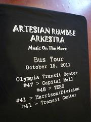 ARTESIAN RUMBLE ARKESTRA