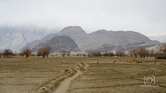 Skardu (M.Omair) Tags: road city autumn winter brown white snow tree water beautiful yellow fog clouds river sand nikon desert fort top peak valley omair leafs indus vr 18105 skardu baltistan shigar virgomair d7000 imomair kharpachu gilgitl
