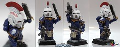 Lieutenant Kallistus of the Ultramarines (.mclovin.) Tags: brick army marine paint lego citadel space badass games 40k workshop future warhammer 40 breakthrough 000 tlc lieutenant tlg ultramarines brickarms kallistus