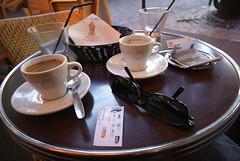 Coffee First (Elisabeth de Ru) Tags: paris france coffee europa europe frana frankrijk francia parijs parigi koffie parys  parisi lasource   pariz   paris15eme  ruealainchartier elisabethderu