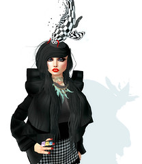 monochrome? (Mellie Villota) Tags: burley epoque lamant juicybox miasnow glowstudio pididdle vive9 {ufo} thebodyco