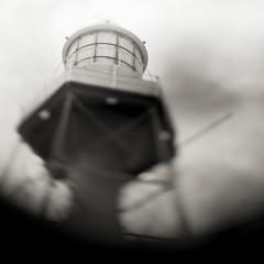 light (Tony Kearney) Tags: lighthouse tilt tmax100 speedgraphic portadelaide homedeveloped aeroektar cropped4x5 newoldlens 178mmf25 asscannedfromneg