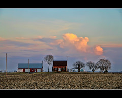 Every cloud has its silver lining but it is sometimes a little difficult to get it to the mint. Don Marquis (Canadian Wendy 24) Tags: ontario clouds farm jonimitchell chesterville bothsidesnow withinamile