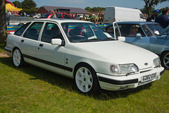 1990 Ford Sierra XR4x4 (Trigger's Retro Road Tests!) Tags: show classic ford car june sierra vehicle essex 1990 2012 lawford revival manningtree xr4x4