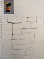 3D technical drawing 2 (samwoodward198) Tags: life new art college architecture liverpool pencil project design sketch 3d still student university lego designer drawing creative line course technical 2014