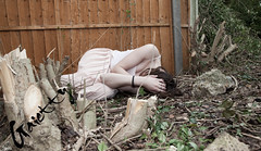 [About ones purpose.] (Gaietty) Tags: wood morning trees winter 2 woman brown cold colour tree green home me girl face leaves rock stone wall lady female self canon fence garden hair photo wooden model hands rocks mess day mood dress arms image time body stones mark top no faith cream freezing bodylanguage skirt pole story cover messy rubbish bodyparts purpose lay laying markii brownhair 2014 facedown laydown mark2 gaietty