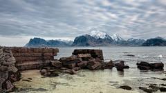 After the storm (vandrende) Tags: norway landscape norge nor paysage lofoten norvege napp landskap nordland myrland