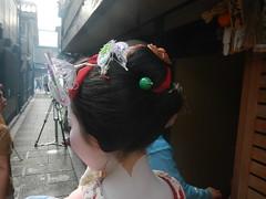 Wareshinobu (Kikyou chan) Tags: kyoto maiko tama gion okiya hanamachi kobu mamekiku mamefuji karyuukai