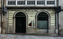 Plus Ultra Caf Victoria (jcfasero) Tags: azulejos fachadas sphotography ourense orense galicia espaa spain facade tile arquitectura architecture galiza ngc