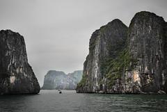 Ha Long Bay 15 (gsamie) Tags: ocean sea rock canon islands boat cliffs vietnam halongbay t3i 600d quangninhprovince gsamie guillaumesamie