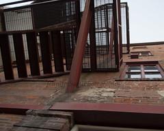 Fire Escape (Jenn Sarti) Tags: urban brick citylife fireescape
