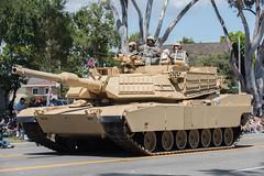 M1A1 Abrams Tank (mark6mauno) Tags: m1a1 abrams tank 57thannualtorrancearmedforcesdayparade 57th annual torrance armed forces day parade 2016 nikkor 70200mmf28gvr nikon nikond810 d810