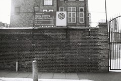 Dutfield's Yard (goodfella2459) Tags: street white black london history film analog yard 35mm jack nikon elizabeth f65 crime f plus pan 50 whitechapel milf ilford ripper henriques stride dutfields