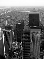Top of the Rock (Carl Hall Photography) Tags: nyc newyorkcity newyork mediumformat rockefellercenter bronica ilford fp4 topoftherock ilfordfp4 bronicaetrs broncia75mmeii