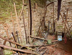 SCE_7844 (staneastwood) Tags: gardens garden saw cornwall fork tools heligan spade lostgardensofheligan staneastwood stanleyeastwood