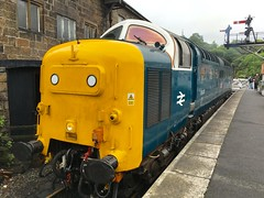 Photo of 55022 as Pinza at Grosmont, 17th June 2016