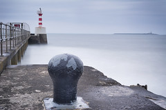 Amble and Coquet Island (aaronlambert1982) Tags: ocean sea lighthouse coast nikon calm northumberland lee tranquil amble coquet coquetisland ndgrad leefilters bigstopper nikond7100
