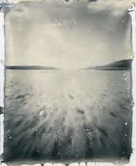 Low Tide at Morar (Mark Rowell) Tags: bw film scotland highlands pinhole 4x5 positive largeformat zeroimage morar 5x4 zero45 new55