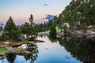 Lac Achard, France