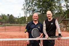 Sylvester och Mikael 2016-06-12 (Michael Erhardsson) Tags: juni tennis htk 2016 tvling hallsberg hallsbergstrffen