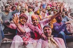Barsana Nandgaon Lathmar Holi Low res (23 of 136) (Sanjukta Basu) Tags: holi festivalofcolour india lathmarholi barsana nandgaon radhakrishna colours