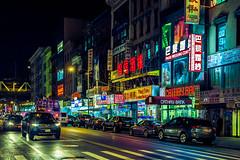 Little Hong Kong (Arutemu) Tags: street nyc newyorkcity urban usa ny newyork night america asian us asia chinatown view nightscape nightshot unitedstates manhattan nighttime american  ville nuevayork