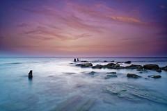 Israel (Hemo Kerem) Tags: longexposure blue sea sky seascape beach water clouds israel telaviv minolta sony mf 24mm alpha manualfocus tlv rokkor palmahim wrokkor palmahimbeach minoltamdwrokkor24mmf28 a7rii sonya7rm2 a7rm2 ilce7rm2