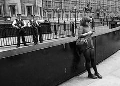 Britain in 2016 (richardsos@yahoo.com) Tags: uk england white black london girl westminster june modern gun police guns armed 2016 parlaiment