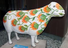 Ruskin (Cumberland Patriot) Tags: museum outdoors sheep painted go cumbria trust ruskin keswick calvert ewe cumbrian herdwick goherdwick