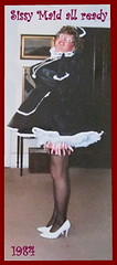 SissyMaid Ready (emily_sheldon) Tags: heels garters stockingtops sissymaid