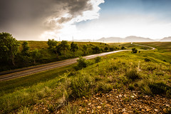 Winding Road (NinjaWeNinja) Tags: road mountains clouds canon landscape landscapes colorado winding roads leading 6d 1635