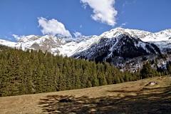 L'enchantement de l'alpage (Chemose) Tags: mountain snow alps flower rock montagne alpes canon eos spring amphitheatre crocus 7d april neige alp avril printemps hdr hautesavoie alpage contamines montjoie contaminesmontjoie