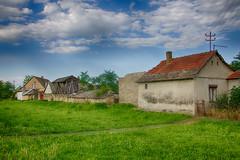 Farm houses. (mathematikaren) Tags: village serbia balkans easterneurope vojvodina donauschwaben ravnoselo schowe vojvodenia