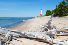 Crisp Point Light (JGKphotos) Tags: 6d canoneos6d crisppointlighthouse johnkunze michigan upperpeninsula lighthouse