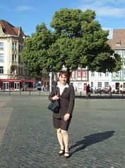 Domplatz (Marie-Christine.TV) Tags: lady feminine skirt business suit transvestite secretary kostm mariechristine skirtsuit sekretrin