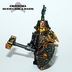 Dragon Knights - Dragon Rider Or'in (Brick Mercenaries Custom Minifigures) Tags: brick castle dragon lego figure knight warriors custom rider minifigure eragon