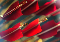 Golden arrows (arndt_100) Tags: italien venice red urban italy rot dof bokeh stadt arrows venedig pfeile
