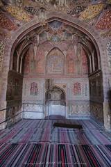 (z) Tags: city pakistan art colors architecture work muslim islam main entrance mosque khan calligraphy za fresco lahore f28 masjid ssm walled  wazir 1635mm   widescape variosonnart281635