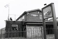 16 The Holmewood Bound Pub, Holme Wood, Bradford (I  Minox) Tags: horse film monochrome bradford olympus 400tx ilfordhp5 ilford olympusom1 2012 ilfordhp5plus kodaktrix400 holmewood