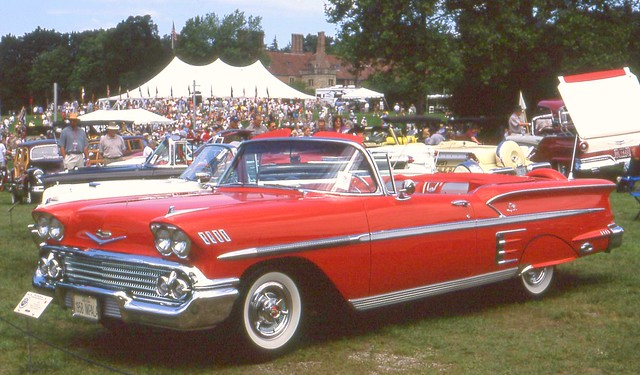 1958chevroletimpalaconvertible meadowbrookconcours2004 ©richardspiegelmancarphoto