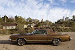 1975 Dodge Charger (Curtis Gregory Perry) Tags: auto original brown classic car us highway automobile nevada mobil 1975 ely dodge motor 75 93 charger automvil xe automobil     samochd  kotse  otomobil   hi worldcars   bifrei  automobili   gluaisten